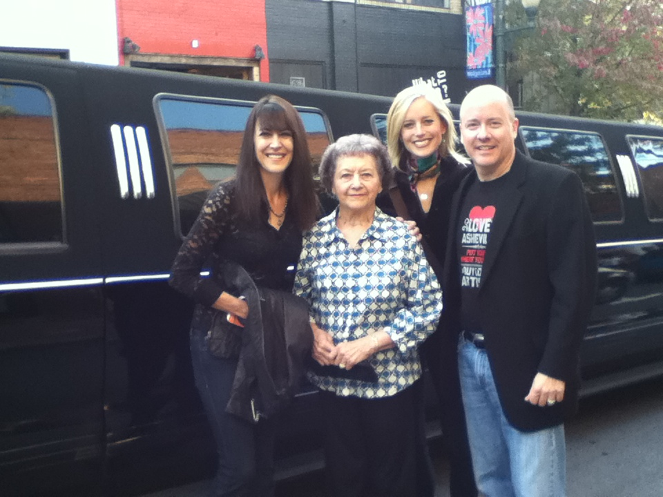 Group Shot Limo Asheville