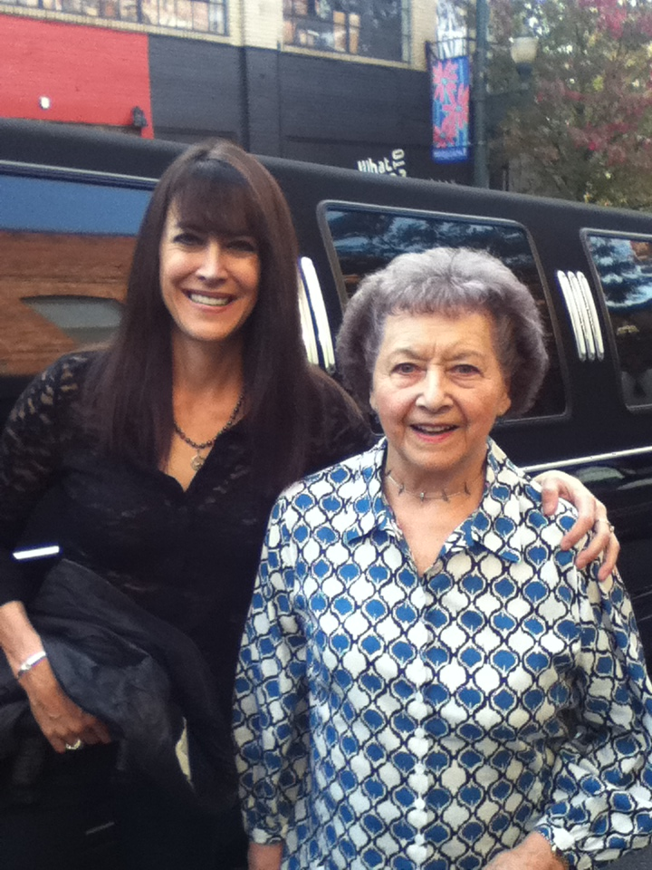 Steph and Mom Limo 2