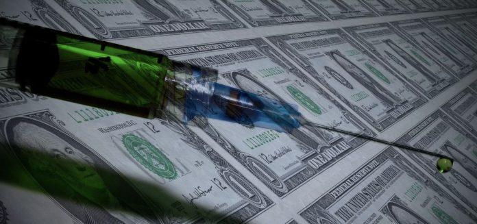 syringe money vaccine