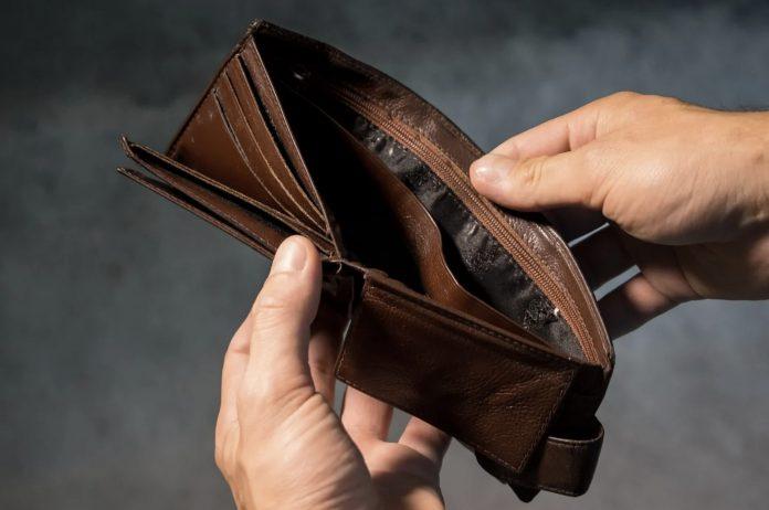 Bankrupt Money Wallet
