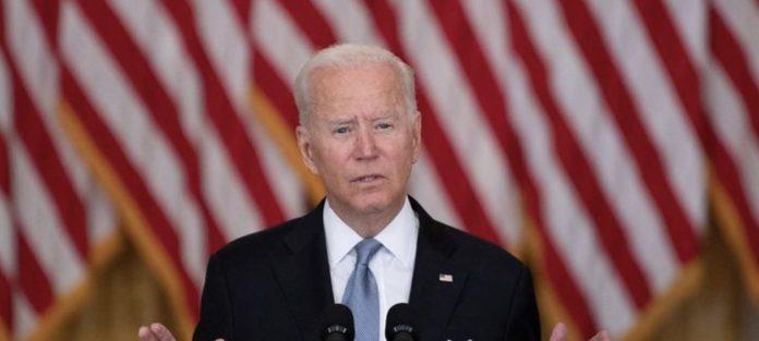 President Joe Biden Flags Speech